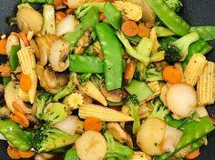 Chinese Vegetable Stir Fry | Genius Kitchen