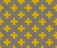 For my quilt - plus_one_linen_yellow fabric by holli_zollinger on Spoonflower - custom fabric