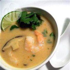 Thaise kokossoep met shiitake en garnalen @ allrecipes.nl Was heerlijk!!!