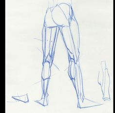 Anatomy Drawing Tutorial Some leg stuff, because last week was leg week in my Inventive Drawing class. Male Figure Drawing, Human Drawing, Figure Drawing Reference, Gesture Drawing, Anatomy Reference, Anatomy Sketches, Anatomy Drawing, Anatomy Art, Life Drawing Classes