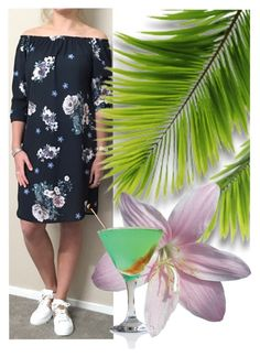"""flowerdress"" by bellino on Polyvore"