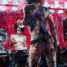 Derek Gores! Had no idea collage can have such a distinctive artstyle. Definetely to check out.