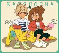 BNHA - Katsuki Bakugou x Ochako Uraraka - BakuOcha