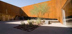 Image 12 of 22 from gallery of Arabian Library / richärd+bauer. Photograph by Bill Timmerman Library Architecture, Education Architecture, Facade Architecture, Contemporary Architecture, Scotsdale Arizona, Visual Arts Center, Courtyard Landscaping, Details Magazine, Library Inspiration