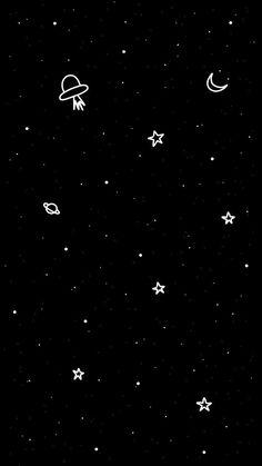 iphone wallpaper stars space and infinity. Iphone Wallpaper Stars, Wallpaper Sky, Space Phone Wallpaper, Wallpaper Doodle, Planets Wallpaper, Iphone Background Wallpaper, Emoji Wallpaper, Cellphone Wallpaper, Dark Black Wallpaper