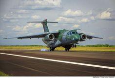 Dialogo Americas :: Aeronave brasileira KC-390 em fase final de certificação