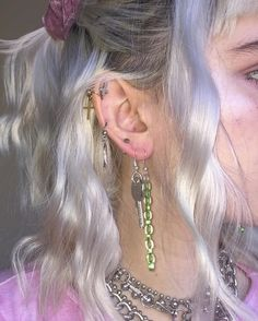 Industrial Barbells - ONE OF EACH - Black Gold Arrow Ear Bars - Double Pierced Earring - Industrial Jewelry - or Scaffold Jewelry - Custom Jewelry Ideas Pretty Ear Piercings, Body Piercings, Grunge Jewelry, Accesorios Casual, Ear Jewelry, Jewlery, Jewelry Sets, Piercing Tattoo, Grunge Hair