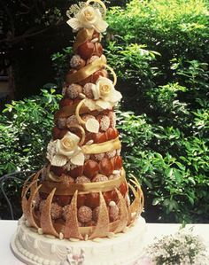 Croquembouche - Traditional French wedding cake