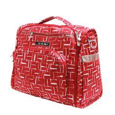 Ju-Ju-Be B.F.F. Tote/Backpack Style Diaper Bag - Syrah Syrah | Designer Diaper Bags www.duematernity.com