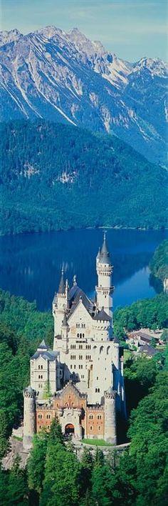 Neuschwanstein Castle, Allgau Germany,  heel mooi een moeite waard om te gaan!
