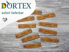 Weiteres - 10 DORTEX Corinera® Leder-Label - Unikat - ein Designerstück von Dortex-2Go bei DaWanda