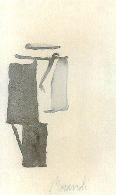 Giorgio Morandi (1890-1964гг). - Музей рисунка