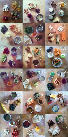 Awesome healthy school lunch ideas!