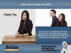 Cherin Tan, Founder of LAANK #Entrepreneur #Entrepreneurs  #Entrepreneurship #CallumConnects #Asia #Asian #Interviews  callumlaing.com