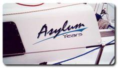 Asylun-Years_Australian_boat_and_yacht_logo_design_inspiration #logo