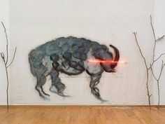 Mario Merz Old Bison on the Savannah Sculpture Art, Sculptures, Jeff Koons, Social Art, Hirst, Wow Art, Hyperrealism, Postmodernism, Installation Art