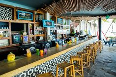 best beach bars in the world- CANIBAL ROYAL, PLAYA DEL CARMEN, MEXICO