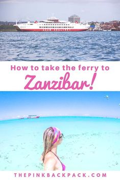Traveling to Tanzania? Getting to Zanzibar by ferry is quite straight forward and more budget friendly than flying into Zanzibar. This transport guide tells you everything you need to know before you go! Africa Destinations, Travel Destinations, Dar Es Salaam, Worldwide Travel, Travel Images, Africa Travel, Culture Travel, Travel Tips, Travel Photography