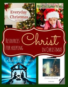 Keeping Christ in Christmas.