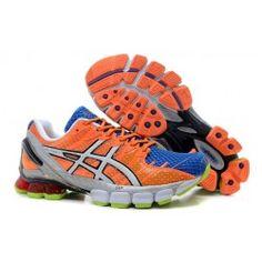 best sneakers 018ed 99832 ASICS Gel Kinsei 4 Mens Orange Blue