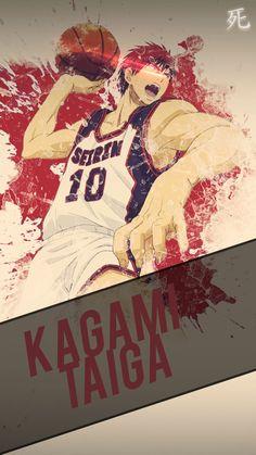 Kagami Kuroko no Basket Mobile Wallpaper HD by Chimozuki.deviantart.com on @DeviantArt