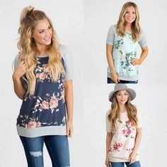 This lightweight floral tunic is a must for spring!  Love the style and I'm all about that relaxed fit!! Only $26 shipped and going fast! ad