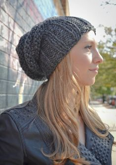7a3ab19986d Slouchy Beanie Slouchy Hat Tam Hat Slouchy Beret Beehive