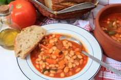 Fasolada, a rustic and homely Greek bean soup