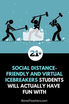 Middle School Icebreakers, Middle School Classroom, Fun Icebreakers, Icebreaker Activities, Counseling Activities, Classroom Activities, Leadership Activities, Group Activities, Team Building Activities
