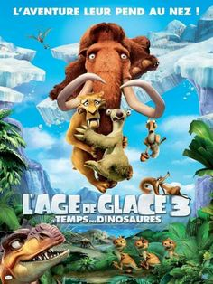 High resolution official theatrical movie poster ( of for Ice Age: Dawn of the Dinosaurs Image dimensions: 1800 x Directed by Carlos Saldanha. Movies To Watch Hindi, New Movies, Good Movies, Movies Online, Dinosaur Movie, Dinosaur Eggs, Adventure Trailers, Adventure Film, Movies