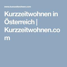 Kurzzeitwohnen in Österreich | Kurzzeitwohnen.com