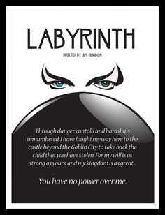 Labyrinth Labyrinth Movie Quotes You Have No Power Over Me