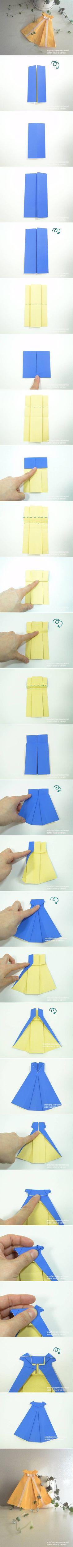 Cute Origami Dress                                                                                                                                                      More