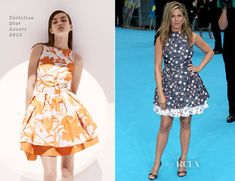 Jennifer Aniston In Christian Dior - 'We're The Millers' London Premiere