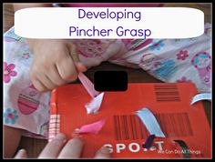 we can do all things: Pull Box using ribbon and a shoe box Montessori Activities, Motor Activities, Therapy Activities, Toddler Activities, Therapy Ideas, Work Activities, Toddler Fun, Toddler Preschool, Kids Fun