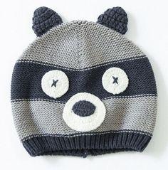 Newborn photography props lovely animal newborn hats baby boy hat warm knitting girls hats baby crochet hat