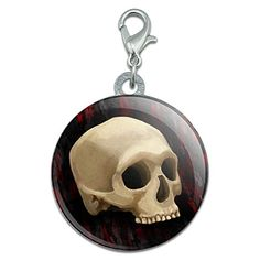 Gothic Human Skull Stainless Steel Pet Dog ID Tag >>> Read more  at the image link. (Note:Amazon affiliate link) #DogIDTags