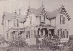 The House of Seven Gables located on the corner of outer Walton Street and the Old Goose Bay Road in Alexandria Bay is shown here.