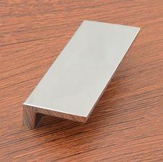 6pcs new modern chrome furniture hardware handles kitchen cabinets drawer wardrobe cupboard dresser door pull knobs