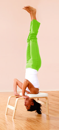 is it a custom #yoga prop for doing headstand?