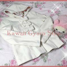 Liz lisa bow front hooded coat / jacket