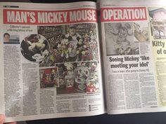 Mickey Mouse Room, Kitty, Japanese, Baseball Cards, Disney, Kitten, Japanese Language, Kitty Cats, Cat