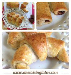 ¡Qué pinta tienen estos croissants #singluten de Deseos Sin Gluten! La #receta, haciendo click en la imagen