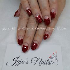 CND Brisa Lite Sculpting Gel overlays with Shellac - By Jo Wickens @ Jojo's Nails - www.jojosnails.com