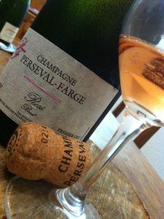 Champagne Rosé Maison Perseval-Farge 1er Cru #champagne #caveosaveurs