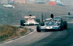 1972 Canadian GP Mosport Jackie Stewart   Tyrrell 005  Howden Ganley BRM P160