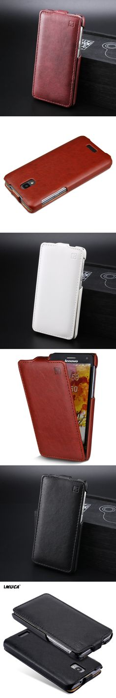 IMUCA Leather Case for lenovo s660 Flip case cover for lenovo s660 S668T mobile phone bags cases accessories