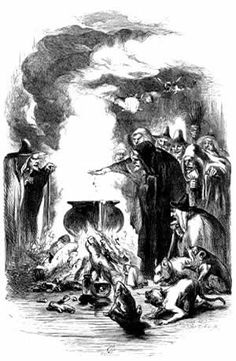 John Gilbert, The Lancashire Witches: The Incantation. Illustration from William Harrison Ainsworth's 1849 novel, The Lancashire Witches. The novel is based on the true story of the Pendle witches, who were executed in 1612 for causing harm by witchcraft. Victorian Halloween, Vintage Halloween, Halloween Ii, Halloween Prints, Halloween Ideas, Medieval Witch, Witch History, Maleficarum, John Gilbert