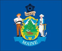 The white pine of Maine is the chief feature of the state seal of 1820. Description from country-flags.blogspot.com. I searched for this on bing.com/images