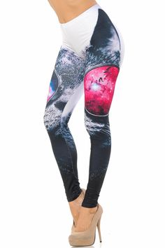 "For all our CAT LOVERS. Be a ""Cool Cat"" in these adorable Double Brushed Cool Sunglasses Kitty Cat Leggings!"